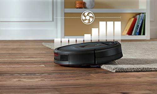41blEVGp0iL [SUPER Bon Plan] iRobot Roomba 981, aspirateur robot, idéal pour les tapis avec forte puissance d'aspiration