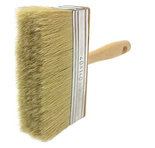 Cepillo de cerdas naturales para empapelado, pintura y vallas, Natural Bristle Hair, 40x140