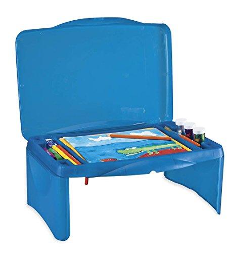Collapsible Folding Lap Desk, in Blue