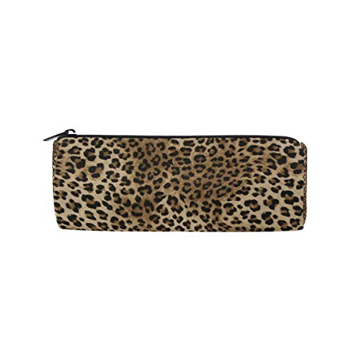 Wowprint Pencil Cases Animal Leopard Tiger Print zipper cancelleria portapenne sacchetto...