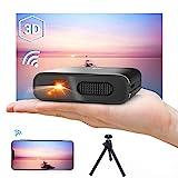 Mini Proiettore Portatile WiFi 3D - Artlii Mana DLP Videoproiettore, Batteria Integrata...