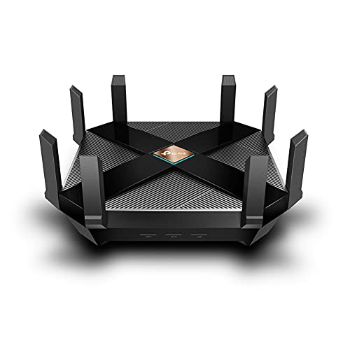 TP-Link Archer AX6000 Next-Gen WiFi 6 Gigabit Dual Band Wireless Cable 6000Mbps, 8 Gigabit LAN...
