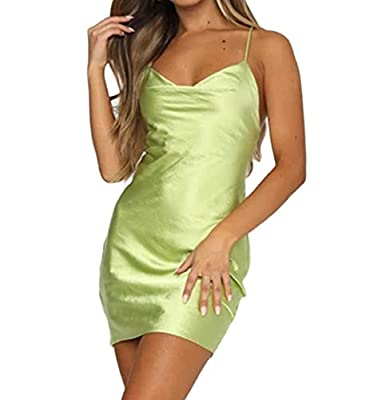 [Big Boobs & Butts, Size Up]✔Material: Polyester blend. Women's mini cami dress made of selected skin-friendly fabric, lightweight, breathable, durable, vintage floral print bodycon dress, slim fit, stretchy. Hand/ Machine wash softly, with cold wate...