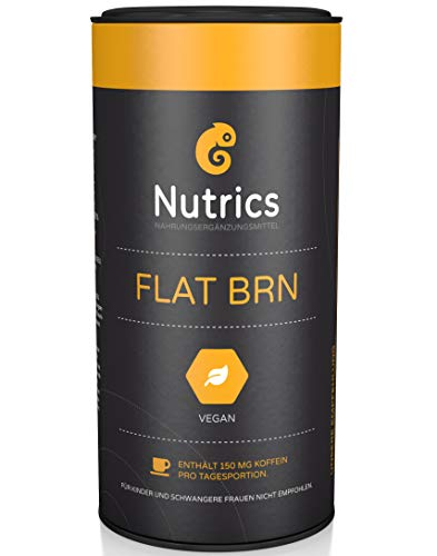 Nutrics FLATBRN 90 Kapseln I 100{b1d73710feee706f51c0e9137f633bbfec2fd9878e64381b5e0f192f9b6abe35} Vegane Kombination I Made in Germany