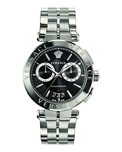 Chronograph Versace logo at 12 o'clock Swiss-quartz Movement