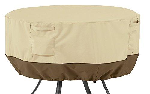 Classic Accessories Veranda Round Patio Table Cover, Large