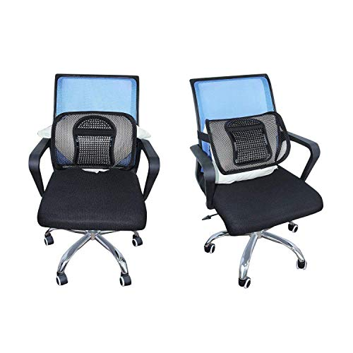 """Product Image 7: ACVCY Lumbar Mesh Support for Office Chair or Car Seat, Breathable Comfortable Back Support for Office Chair Lumbar Support Cushion for Car Seats Office Chair Car Lumbar Cushion 12"""" x 16"""""""