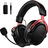 Mpow Air Wireless Gaming Headset - PS4 Headset with Double Chamber Drivers, Noise Cancelling...