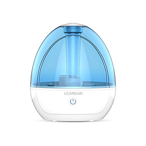 Cool Mist Humidifier  Humidifier for Bedroom, Quiet Mist Humidifier, High Low Mist, Waterless Auto-off, Night Light, Baby Kids Nursery, 2L Tank, Filterless Humidifiers for home office, ETL Approved