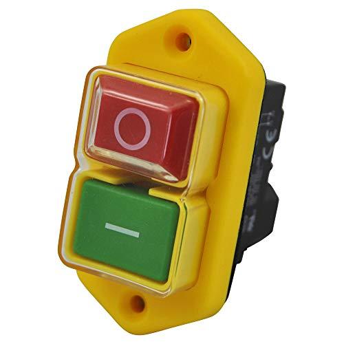 Interrupteur magnétique KEDU KJD17 B 230V avec déclencheur à minimum de tension et contact de bobine