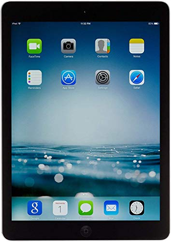 Apple iPad Air A1474, MD785LL/A, 16GB, Wi-Fi, Space Gray w/ 1 YEAR EXTENDED CPS LIMITED WARRANTY(Refurbished)