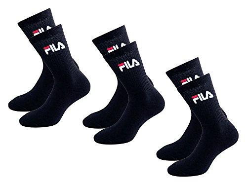Fila 3 paia calzini tennis socks spugna art. F9000 (39-42, blu)