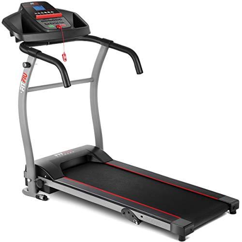 FITFIU Fitness MC-100, Tapis Roulant Pieghevole Unisex Adulto, Nero, 900 W