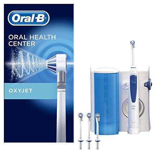 Oral-B Irrigador Bucal Con Tecnología Oxyjet De Braun, 4 Cabezales De Recambio Oxyjet, Microburbujas Para Una Limpieza Dental Completa