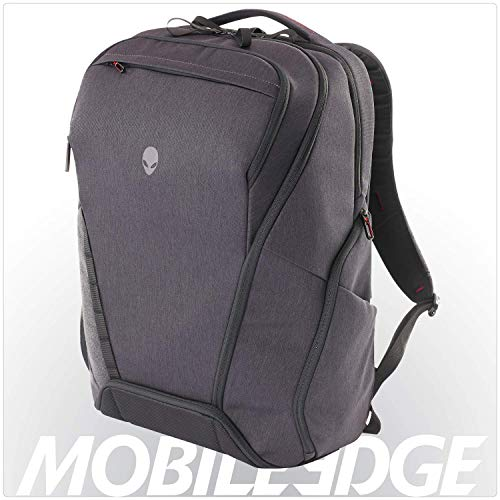 Alienware Area-51m Elite Gaming Laptop Backpack, 17-Inch, Gray/Black (AWA51BPE17)