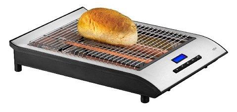 Design Flachtoaster mit LCD-Anzeige Toaster Tischröster Exido 243-060