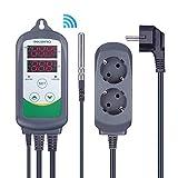 Inkbird ITC-308 Prise Thermostat WiFi Numérique 2 Relais 220V Sonde...