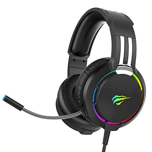 Auriculares Gaming para PS4 HAVIT Iluminación RGB Cascos Gaming...