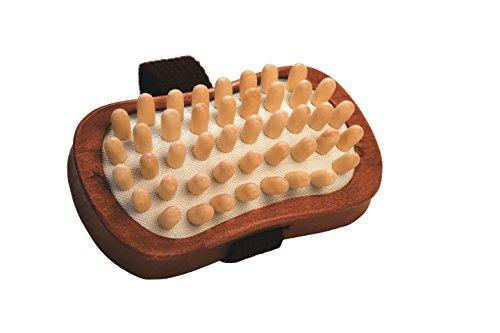 Croll y Denecke 60.093 celulitis cepillo de la mano con clavos de madera