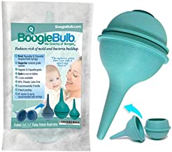 BoogieBulb Baby Nasal Aspirator and Booger Sucker- BPA Free & Hospital Grade Nose..