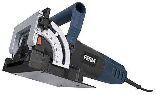 FERM Flachdübelfräse 900W - Mit 50 Lamellendeubel...