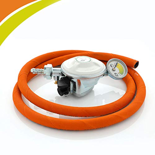 IGT Striving for Perfection Gas Safety Device with Suraksha Gas Hose Pipe(White Color)