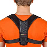 Posture Corrector for Men and Women - Adjustable Upper Back Brace for Clavicle Support and Providing Pain Relief from Neck, Back and Shoulder