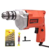 Cheston 10mm Drill Machine (DRILL WITH 13HSS AND 1 WALL BIT)