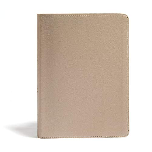 CSB She Reads Truth Bible, Champagne Gold LeatherTouch, Indexed