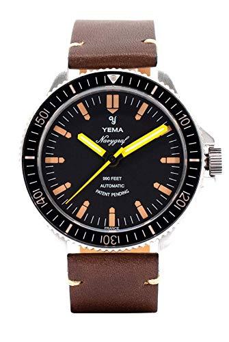 Yema Herren-Armbanduhr YNAV2019-AUS