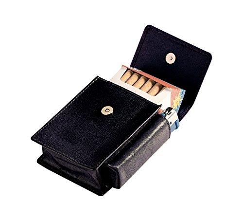 Egoist Porte-Cigarettes en Vrai Cuir/étui/boîte à Cigarettes,...