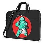 XCNGG Fullmetal Alchemist Anime Laptop Hombro Messenger Bag Tablet Computadora Almacenamiento Mochila Bolso 15.6 Pulgadas