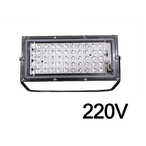 BIOBEY 50W LED Lampada germicida UV Proiettore Proiettore Lampada da parete per esterni da giardino...