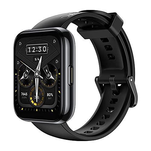 realme Watch 2 Pro Reloj Inteligente de 44 mm GPS Incorporado, 90 Modos Deportivos Batería de 14 días Resistencia al Agua IP68