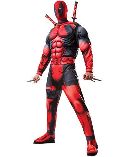 Rubie's Costume Co Marvel Men's Universe Classic Muscle Chest Deadpool Costume