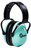 EZARC 防音イヤーマフ 遮音値 SNR30dB 耳当てプロテクター 折りたたみ型 子供用 学生用 睡眠・勉強・自閉症・聴覚過敏緩めなど様々な用途に 騒音対策 (グリーン)