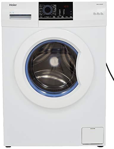 Haier 6 kg Fully-Automatic Front Loading Washing Machine (HW60-10829NZP, White)