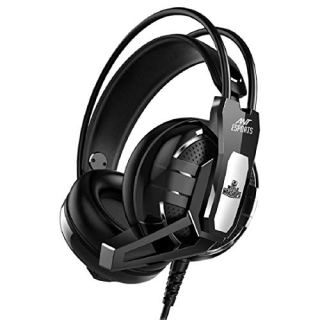 (Renewed) Ant Esports H520W Gaming Headset for PC / PS4 / Xbox One, Nintendo Switch, Computer and Mobile, World of Warships Edition– Black
