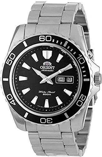 Orient Herren Analog Automatik Uhr mit Edelstahl Armband FEM75001BW