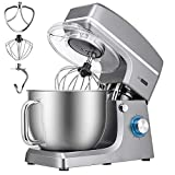 VIVOHOME 7.5 Quart Stand Mixer, 660W 6-Speed Tilt-Head Kitchen Electric Food Mixer with Beater,...