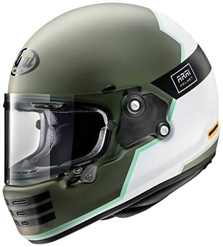 アライ(Arai) ヘルメット ラパイドネオ オーバーランド (RAPIDE-NEO OVERLAND) フルフェイス クラシック オリーブ・カーキ 55-56cm RN-OVEOV-55