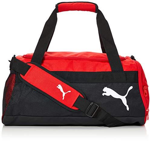 PUMA teamGOAL 23 Teambag S Bolsa Deporte, Unisex-Adult, Red Black, OSFA