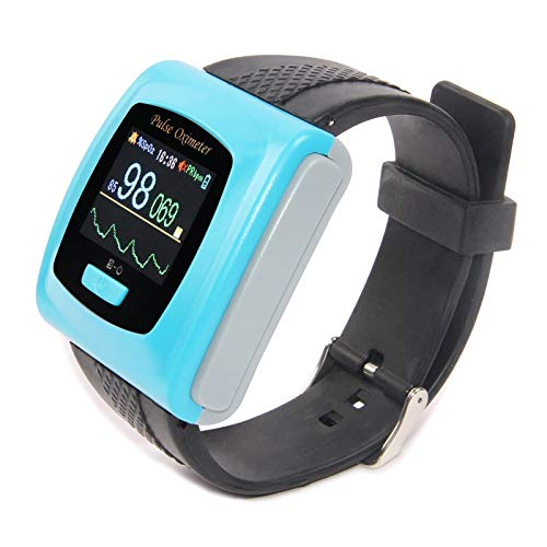 CONTEC CMS50F Wrist Watch Pulse Oximeter Heart Rate Monitor