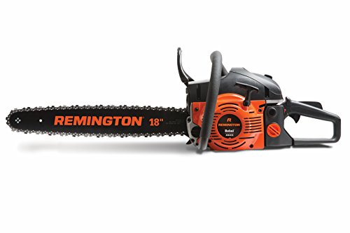 Remington RM4218 Rebel 42cc 2-Cycle 18-Inch Gas Powered Chainsaw with Heavy Duty Carry Case-Automatic Chain Oiler-Anti Vibration System, 42cc-18