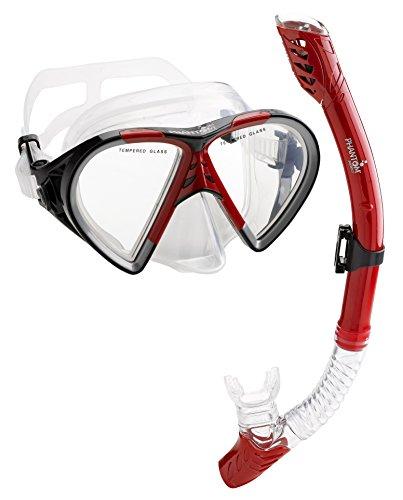 Phantom Aquatics Cancun Mask Snorkel Combo
