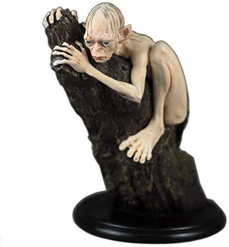 Ertyuk-Decor Sculptures Décoratives Statues Objets Décoratives Seigneur des Anneaux Roi Statue Hobbit Décoration Caractère Statue Hobbit Statue Sculpture Bureau Résine Artisanat-A