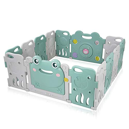 Baby Vivo Parque Infantil Plástico 14 Elementos - Fridolin
