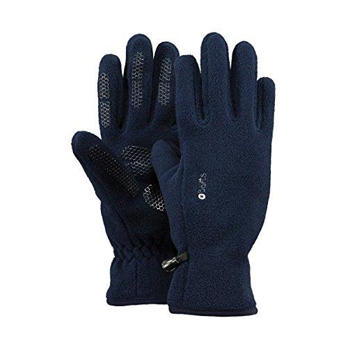Barts Fleece Glove Kids, Guanti Bambini Unisex, Colore Blu, Taglia 2-3 Anni (Taglia Produttore: 2)