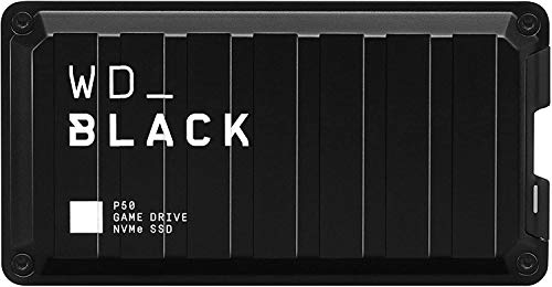 WD_BLACKP50 Game Drive de 1 TB - Velocidades SSD NVMe hasta 2000MB/s...