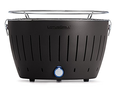 LotusGrill G-AN-34 - Barbecue a carbone senza fumo, Nero